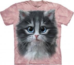 Kinder T-Shirt Kätzchen Pink