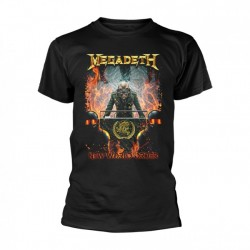 T-Shirt Megadeth new world