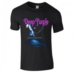 T-Shirt Deep Purple Smoke on