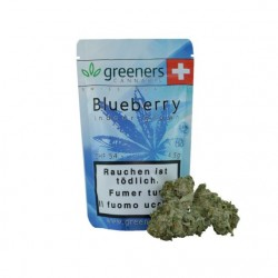 GREENERS CBD, Blueberry...