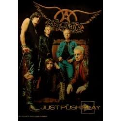 Textilposter Aerosmith Just...