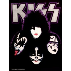 Textilposter Kiss