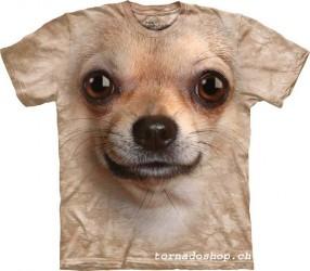 T-Shirt The Mountain chihuahua face