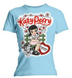 Girlie Shirt Katy Perry thinking