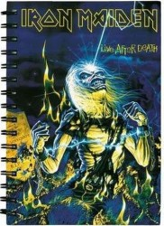 Notizbuch Iron Maiden eddie