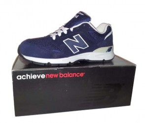 New Balance navy/white