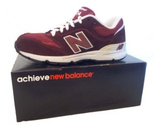 New Balance maroon/grey