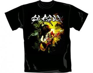 T-Shirt Slash flames