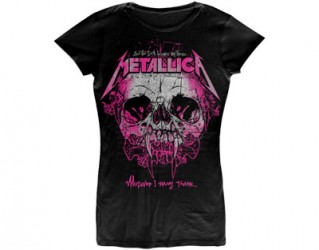Girlie Shirt Metallica wherever i may