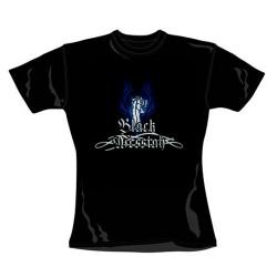 Girlie Shirt Black Messiah band logo