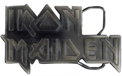 Gurtschnalle  Iron Maiden logo