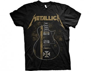 T-Shirt Metallica guitar