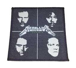 Aufnäher Metallica band