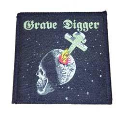 Aufnäher Grave Digger skull