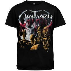 T-Shirt Obituary the dead