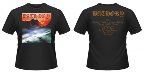 T-Shirt Bathory twilight