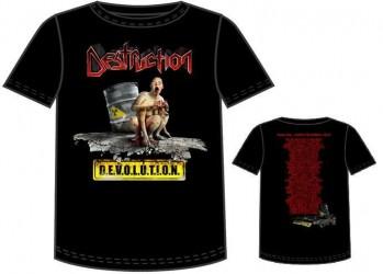T-Shirt Destruction devolution