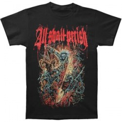 T-Shirt All Shall Perish chains