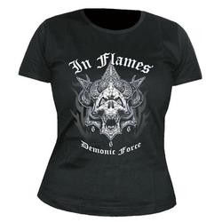 Girlie Shirt In Flames demonic force