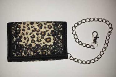 Portemonnaie Gothic mit Kette