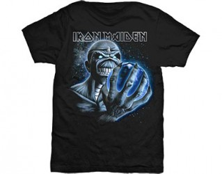 T-Shirt Iron Maiden different world